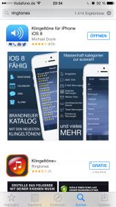 Die App im Appstore